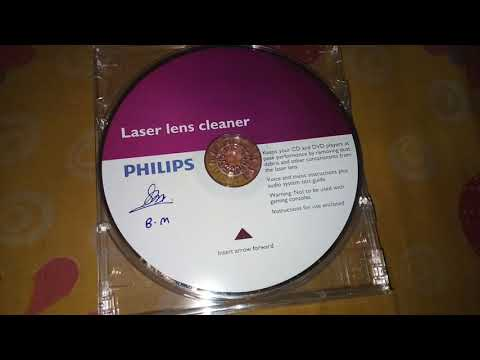 Phillips DVD RW LEANS CLEANER for Laptop, Desktop,car, DVD player, car DVD player