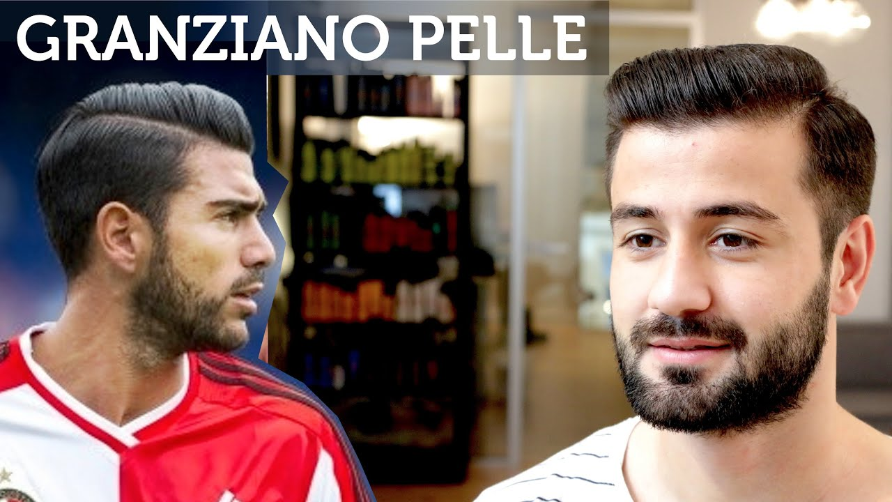 Graziano Pelle Hair Football Player Hairstyle Men S