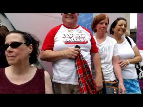 Bay City Roller fans in Nathan Phillips Square June 26, 2016