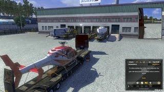 Euro Truck Simulator 2 v1.12 + High Power Cargo Pack Gameplay