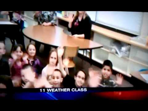 Channel 11 News Morton Elementary School 2nd grade