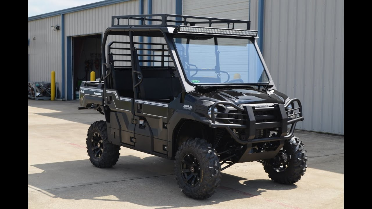 18 599 Kawasaki Mule Pro Fxt With Lift Stereo