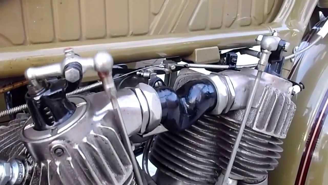1928 Harley Davidson Ba Single: Harley Davidson 1928 JD サイドカー 日本仕様