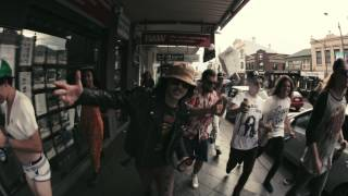 STICKY FINGERS - AUSTRALIA STREET (Official video)(New Album