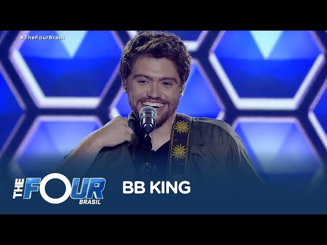 Ao som de BB King, Leo Mahuad impressiona jurados do The Four Brasil