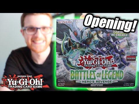 Yu-Gi-Oh! Battles of Legend: Hero's Revenge Booster Box Opening!
