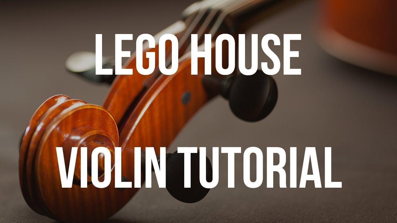 Violin tutorial lego house youtube violin tutorial lego house hexwebz Images