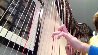 Fire Flower Intro (Harp Cover)