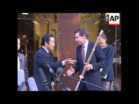 Switzerland-Micky Kantor Meets Ryutaro Hashimoto