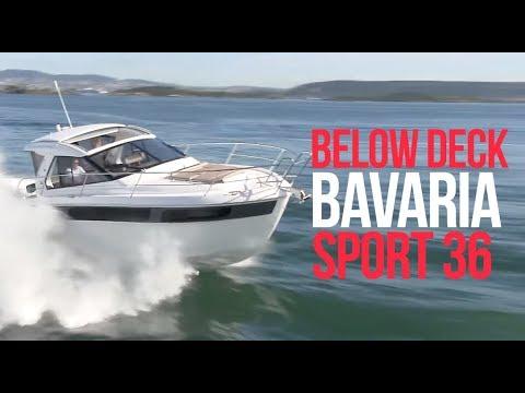 Boat Tour - Bavaria Sport 36 - Motor Boat - Luxury Sportsboat