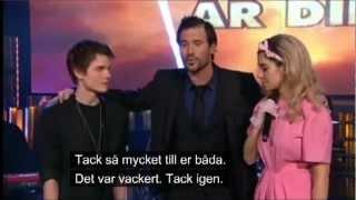 Marina and the Diamonds - I Am Not A Robot (Duet with Pontus Olofsson) (Kvällen Är Din 02/06/2012)