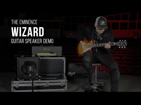 The Eminence Wizard Guitar Speaker Demo