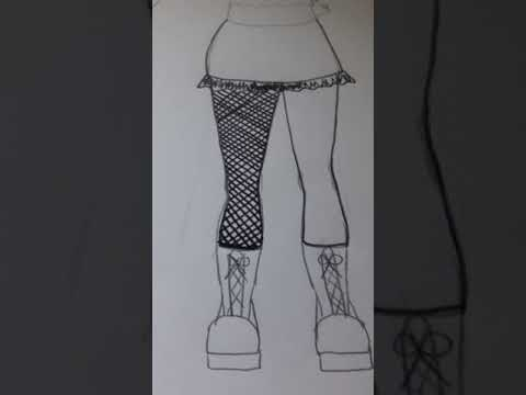 Drawing Fishnets Tutorial