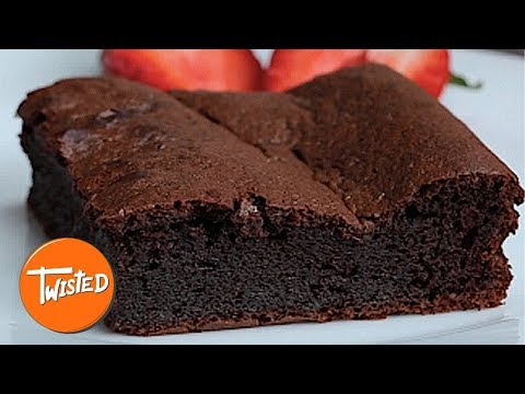 5 Ingredient Blender Brownie Recipe | Best Chocolate Recipes | Easy Desserts To Make | Twisted