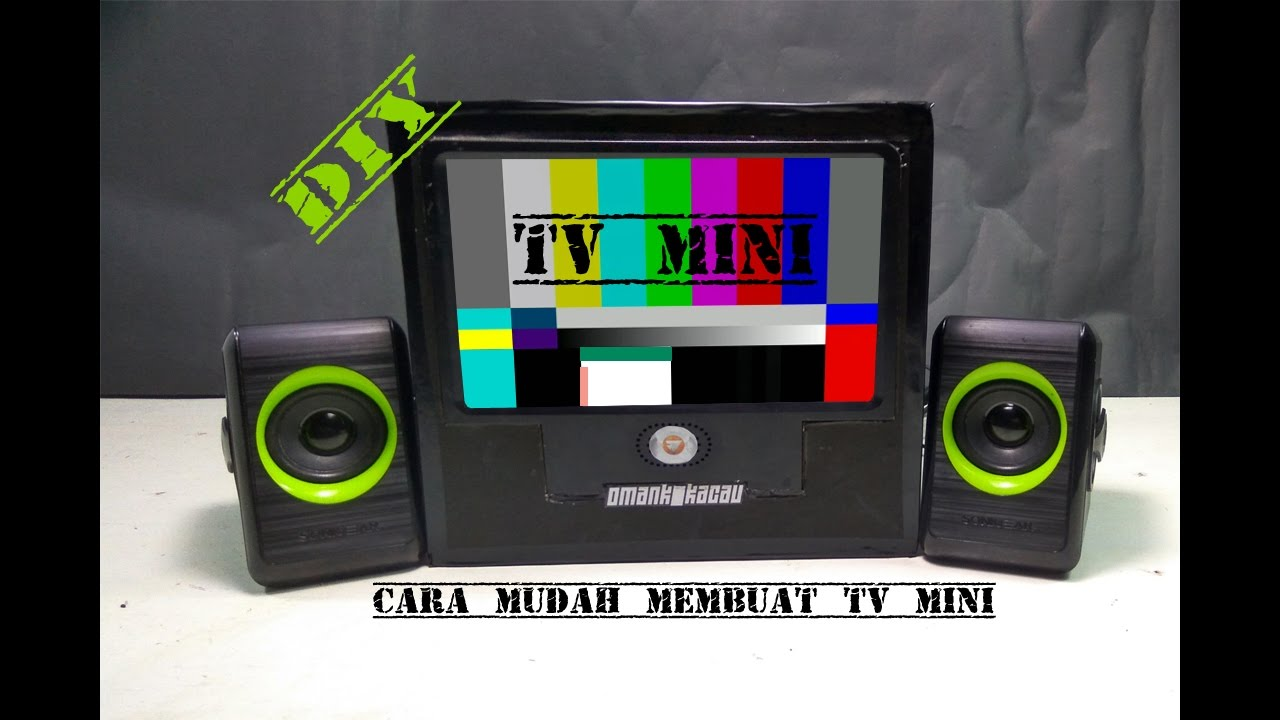 How To Make A Mini TV Out Of Cardboard