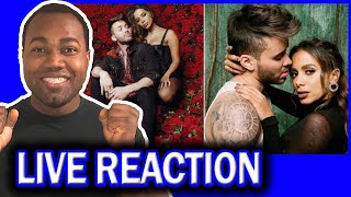 Anitta with Prince Royce - Rosa  REACTION
