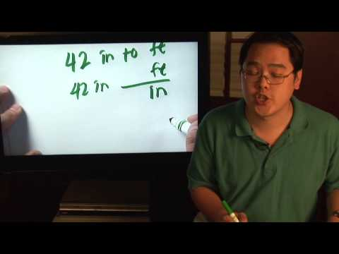 Math Lessons How To Convert Inches Into Fraction