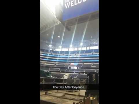 The Day After Beyonce at AT&T Stadium