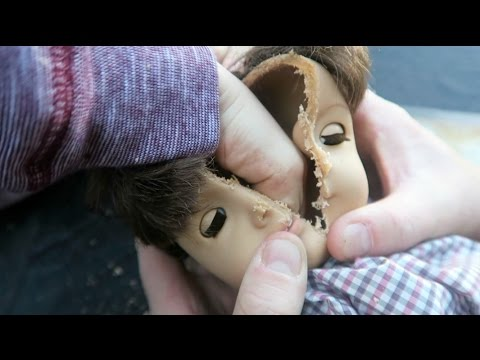 What's Inside an American Girl Doll | SKIT