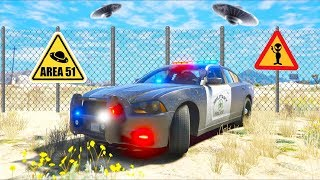 I found a hidden AREA 51 in San Andreas!! (GTA 5 Mods - LSPDFR Gameplay)