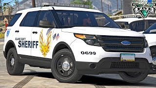 Let's Go To Work | LIVE | BLAINE COUNTY PATROL LSPDFR | #215 Sheriff D.