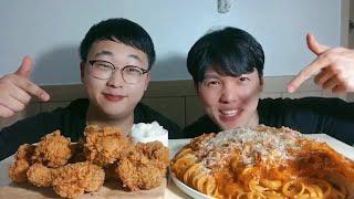 [UCC 콘테스트] 염주먹방 l 황금올리브닭다리 먹방 …
