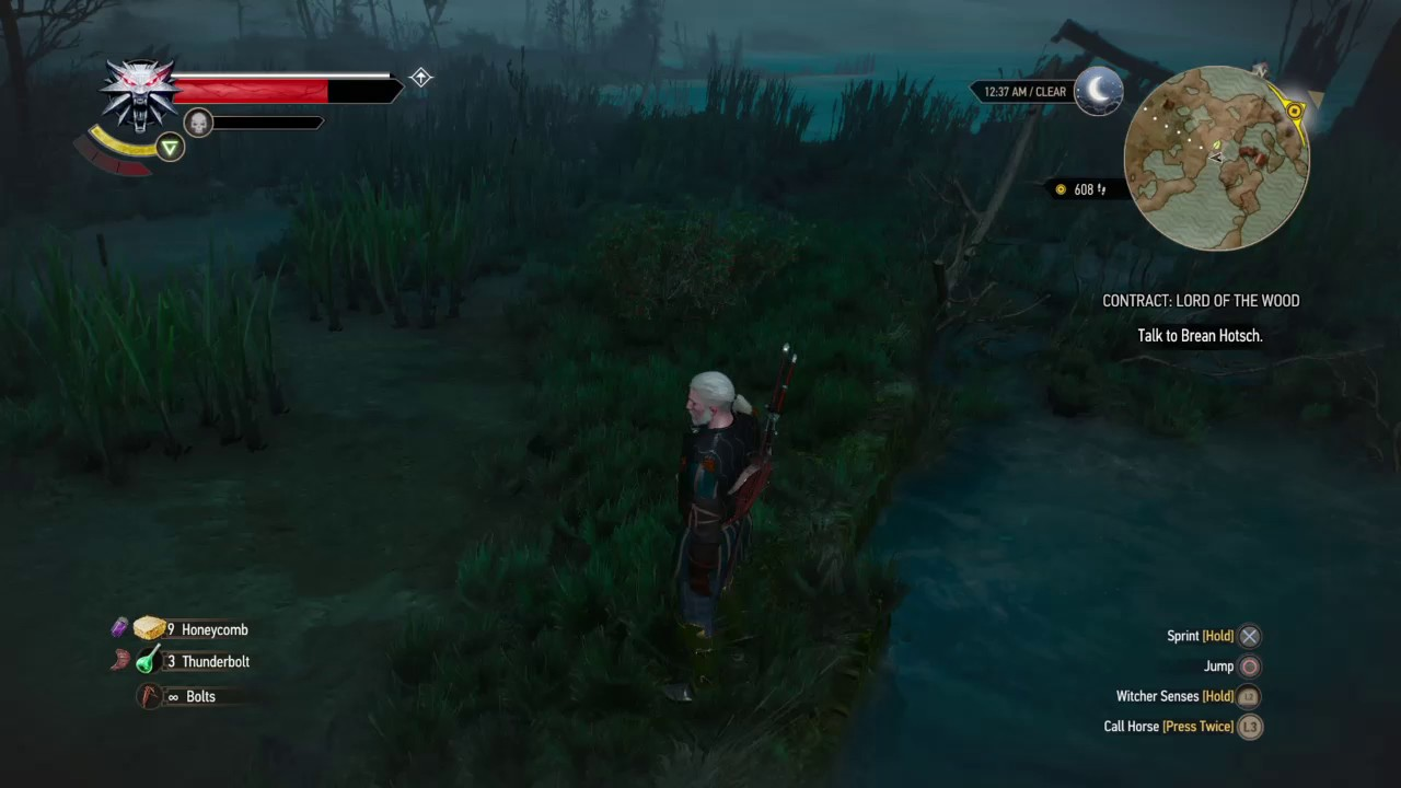 how to get burning roach witcher 3