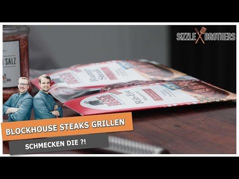 Blockhouse Steaks grillen   Schmecken Blockhouse Steaks?