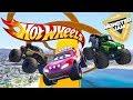 HOT WHEELS MONSTER JAM PARKOUR CHALLENGE (Cars 3 Challenge)