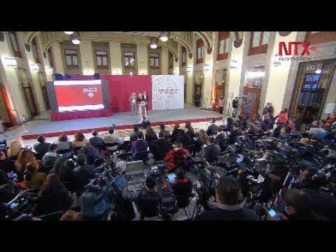 Conferencia de prensa de AMLO, 8 de enero