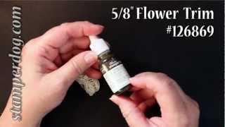 How to Dye Ribbon Flowers 5 Ways