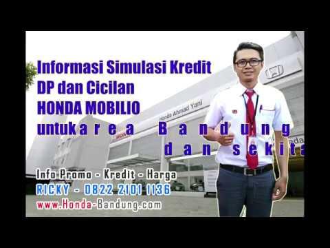 Tabel Kredit DP & Cicilan Mobil Honda Mobilio Bandung