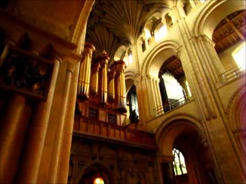 Norwich Cathedral Organ - Jerusalem (rehearsal) - YouTube