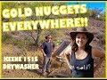 GOLD NUGGETS EVERYWHERE!!! The Keene 151 Drywasher