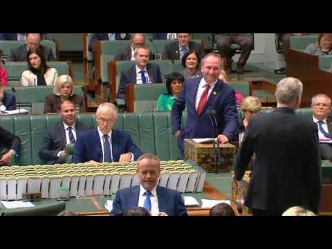 Tony Burke saves Barnaby Joyce