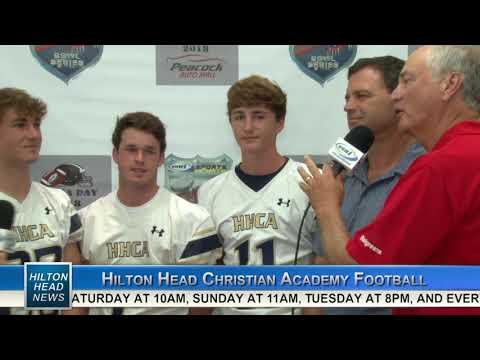 HILTON HEAD NEWS | Hilton Head Christian Academy | High School Football Media Day | WHHITV