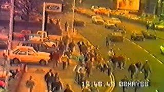 Football Hooligans - Man Utd v Man City - 1988