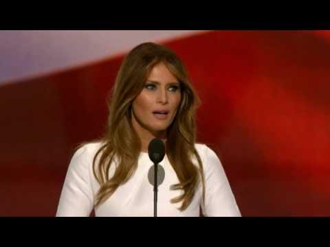 Trumps kone holder tale på republikansk konvent - DR Nyheder