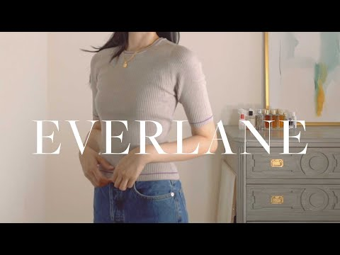 EVERLANE HAUL (late summer / early fall try on)