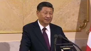 president xi jinping expresses confidence that his swiss visit will be full success in speech
