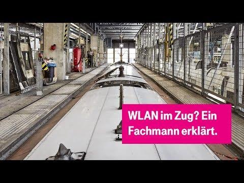 Social Media Post: Wie kommt das WLAN in den Zug? #tnt17