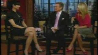 Catherine Bell on Live with Regis & Kelly