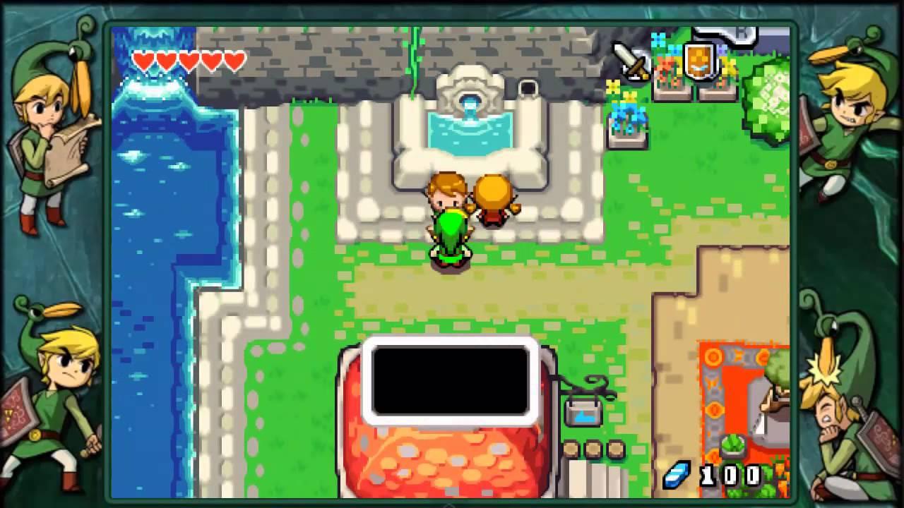 The Legend Of Zelda The Minish Cap Capítulo 4 L Las Piedras De La Suerte Parte 1 D Youtube