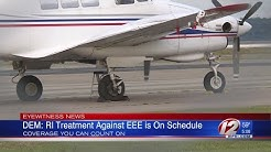 Aerial mosquito spraying underway in Rhode Island