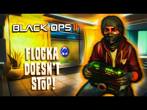 Flocka Doesn't Stop! - BO2 - French Fry Head, Charcoal Teeth, Uncle Tom, Roasting and More!