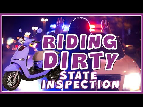 150cc Scooter Vlog 1: Ridin' Dirty/State Inspection