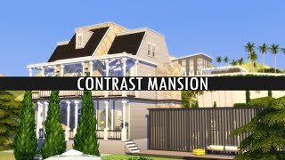 The Sims 4 Speed Build: CONTRAST MANSION