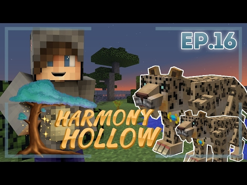 ALL THE LEOPARDS?! - Harmony Hollow Modded SMP Season 2 - Ep.16