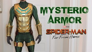 Mysterio's Armor and Undersuit - Mysterio Cosplay Part 2!