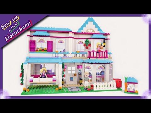 Dom Stephanie ❤Nowość 2017❤ Budowanie klocków Lego Friends 41314